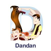 ABCDraw: D is for Dandan by adifitri