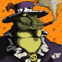 Pimp Croc by Emanhattan