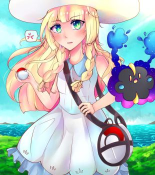 Lillie by Jellieviefish