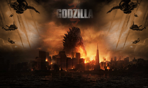 Godzilla 2014 Wallpaper by Angelus23