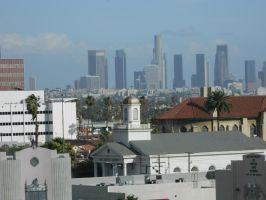 Hollywood to LA by sheepcat-ptv