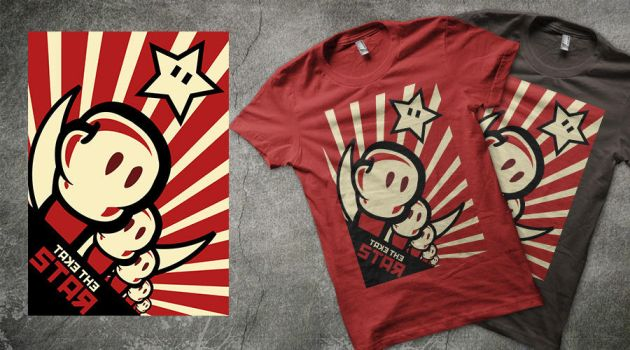 Take the star T-shirt by Negroud