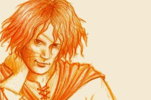 Flame-Coloured Dustfinger by FuchsiaII