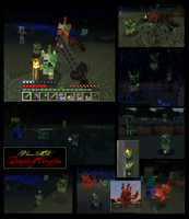 Minecraft Zombie Leafeon Mob v-1.0.1 by FuzzyAcornIndustries