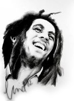 Bob Marley by SweetSophie