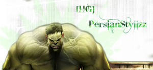 Hulk Signature by ChuyFluff