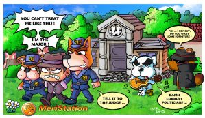 Animal Crossing : New Leaf by JFRteam