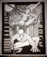 Spider-Man Birthday Commission 5-25-13 by joesmithrealname