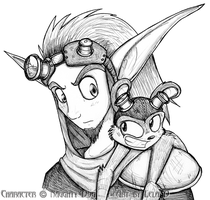 Jak and Daxter by metallixfaker