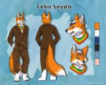 Felix Ref Sheet by Silvixen