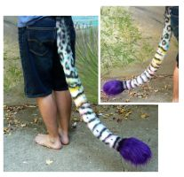 Rainbow Artistic Liberty Tail by LilleahWest