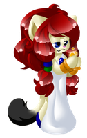 AT: Princess Comet Lineless by CharCharCommish