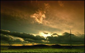 After the storm by Crossie