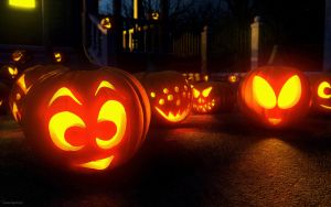 Jack-o-lanterns by kondaspeter1