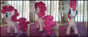 PinkiePie Plushie Pattern Test by Heilos
