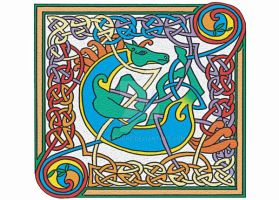 Celtic Knot Horse by AoifeTighe