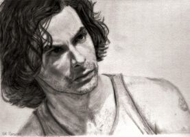 Aidan Turner as Mitchell in Being Human No. 6 by shuckaby