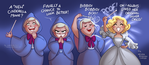 Cinderella 2015: Fairy Godmother by daekazu