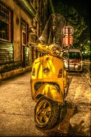 Vespa from Hell by natsfr
