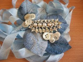 Only You - Hair Comb by Jamethial
