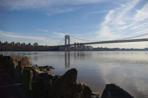 George Washington Bridge II by HMoreng