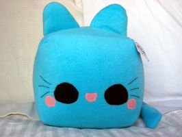 Kitty Ice Cube Plushie by quacked