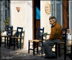 Is loneliness freedom? by photofenia