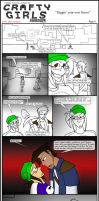 Minecraft Comic: CraftyGirls Pg 6 by TomBoy-Comics