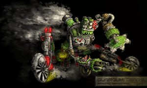 Guargum Gears Redesign Colored by JRTribe