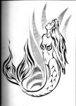 Mermaid Tattoo by For-the-Third-Time