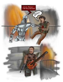 Terminator Salvation Comic by Rosscota