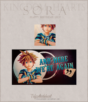 Kingdom Hearts - Sora by TifaxLockhart