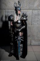 Lich King/Arthas Cosplay WoW (female) by HanHanx3