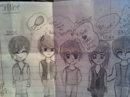 SHINee Comic by animelover287