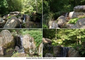 Small falls- packA-STOCK by Rainny-Stock