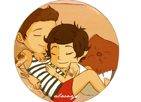 1DRequest: Larry Cuddles by spiderweb-heart