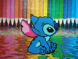Stitch by HigurashiKarly