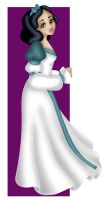 + SNOW WHITE as ODETTE + by Opal-I
