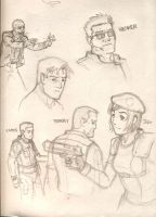 More Resident Evil sketches-1 by Magilla-da-Killah