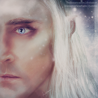 Thranduil - Snow by LindaMarieAnson