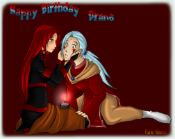 +Happy Birthday Drane+ by Fire-sama