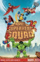 Marvel Super Hero Squad Cover by dichiara