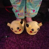 Good morning - slippers and pajamas by mirry92