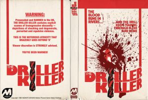 Driller Killer DVD Jacket by TerrysEatsnDawgs