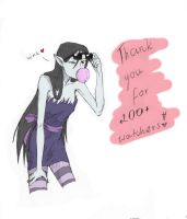 Thank you! by The-DarkBunny