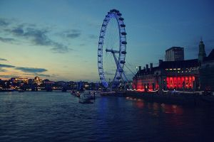 London Eye by WednesdayFades