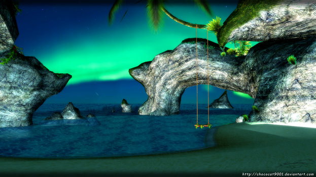 Grotto environment - MMD stage DL by DiemDo-Shiruhane