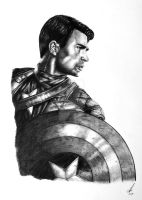 Chris Evans / Capt America by salt25