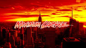Maximum Carnage Cover (No Carnage) by ProfessorAdagio