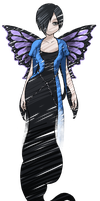 Gaia commission Butterfly by MelanieWolfrin